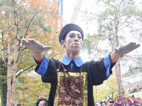 9nine ラクーアイベントでキョンシーたちが暴れだした! 川島海荷道士のキョンシー退治に子供たちも大興奮!