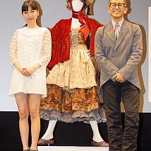 神田沙也加(左)・宮本亜門(右)
