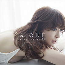 浜崎あゆみ 16th オリジナル・フルアルバム『A ONE』CD+DVDジャケ写
