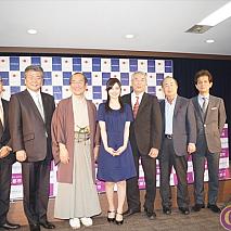 「京都国際マンガ・アニメフェア2015」記者会見より
