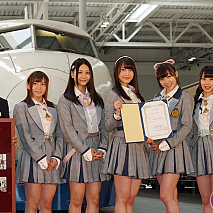 SKE48×JR東海 リニア・鉄道館 特別親善大使就任式より