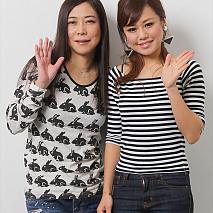 椿鬼奴(左)・高梨マリアーニ(右)
