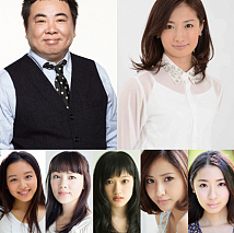 映画『TOKYO CITY GIRL』(夏バージョン)キャスト陣