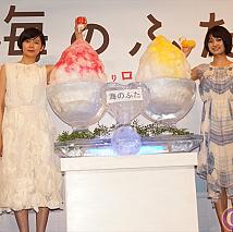 菊池亜希子(左)・三根梓(右)
