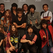 FENDER LAUNCH PARTYより