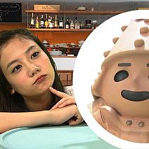 清水富美加(左)、はに丸(右) (C)NHK