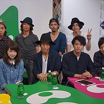 舞台「AZUMI 幕末編」出演キャストが出演したアメスタ公開生放送より