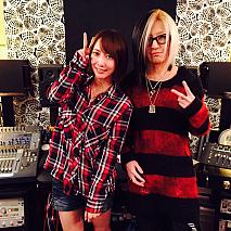 藍井エイル(左)・GLAY HISASHI(右)