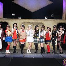 「新・戦国降臨ガール」ゲネプロ公演より