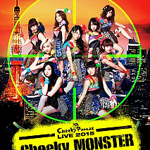 Cheeky Parade LIVE 2015 「Cheeky MONSTER~腹筋大博覧會~」ジャケ写