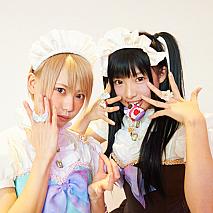 篠崎こころ(左)・椎名ひかり(右)