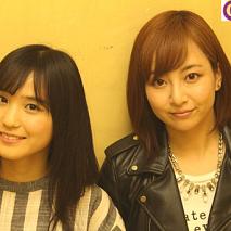 『Dance Music Gathering』出演直後のBitter & Sweet。左から、田﨑あさひ、長谷川萌美。