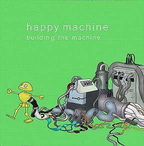 happy machine 1st mini album『building the machine』ジャケ写