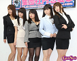 左から伊藤しほ乃、星乃まおり、橋元優奈、若木萌、実崎ゆうみ