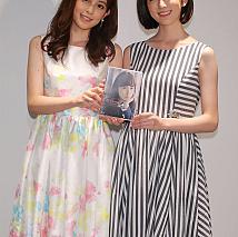 久慈暁子(左)と樋口柚子(右)