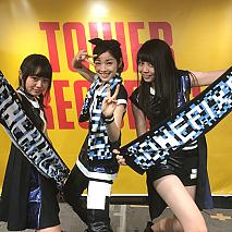 OnePixcel。(左から)鹿沼亜美、傳彩夏、田辺奈菜美