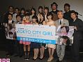 映画『TOKYO CITY GIRL 2016』初日舞台挨拶