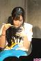年越しそばを食べる田﨑
