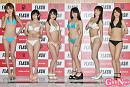 左から赤坂友里恵、加藤圭、清水あかね、椎名しな、大森天乃、佐々木花菜子