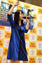 伊藤美来が6月24日にタワーレコード新宿店で開催したインストアイベント。