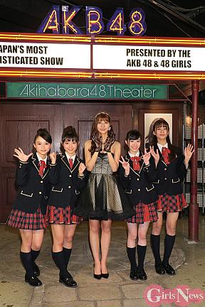 阿部マリアとAKB48台湾研究生