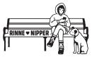 吉田凜音 & ニッパー  コラボグッズ  キービジュアル