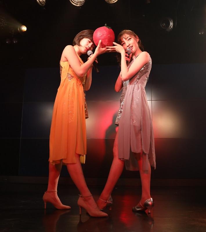 東京パフォーマンスドール内ユニット「赤の流星」が初の単独ライブ 初作詞に挑戦した新曲も披露
