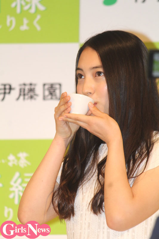 久保田紗友、『お〜いお茶』の新CMガールに「新社会人としてフレッシュな気持ちで」