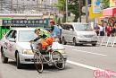 自転車安全利用TOKYOキャンペーンin新宿通り