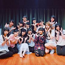 松井珠理奈とTPE48メンバーとのコラボショット