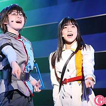 演劇女子部「タイムリピート〜永遠に君を想う〜」より。宮本佳林、稲場愛香