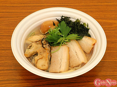 生搾り 贅沢牡蠣塩らぁ麺(全部載せ)