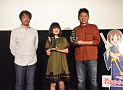 田中統英プロデューサー、小林星蘭さん、高坂希太郎監督