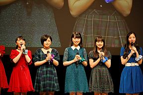 「BEYOOOOONDS ~冬の陣 ZIN~」より (左から2人目より)平井美葉、小林萌花、里吉うたの