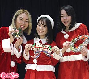 制服向上委員会 (左から)齋藤優里彩、星乃愛里彩、橋本美香