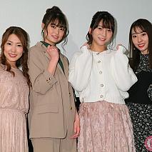 「アニメ女子・外伝~藍の翼・カーレッジ~」初日舞台あいさつ