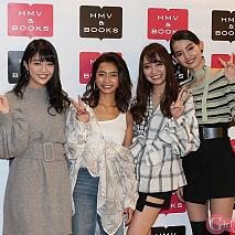 左から松川菜々花・遠山茜子・みうらうみ・黒木麗奈