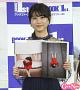 喜多乃愛。お気に入りのカット(左ページ)を紹介。