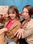 萩田帆風(左)