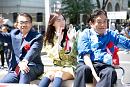 大村秀章愛知県知事、松井珠理奈、河村たかし名古屋市長