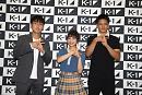 『K-1甲子園2019』初代応援サポーター&PR大使記者発表会より