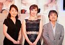 作詞を担当したさくらちさと氏、作曲を担当した伊藤薫氏も応援に駆け付けた。