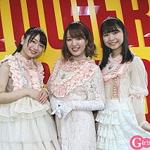team・princess (左から)中川千尋、関根梓、橋村理子
