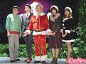 ミュージカル『クリスマスキャロル』制作発表会見より。右端はこの日の司会で出演者でもある西澤由夏(AbemaTVアナウンサー)。