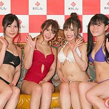「東京Lily 4周年」記念撮影会