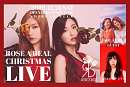 ROSE A REAL CHRISTMAS LIVE 告知ビジュアル