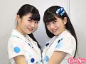 (左から)中川千尋(15歳/静岡県出身)、 佐々木ほのか(13歳/福岡県出身)