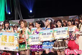 優勝した東洋大学「Tomboys☆」