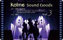 「kolme Sound Goods Vol.3」Type-A