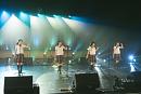 中等部3年曲「クロスロード」左から吉田爽葉香・藤平華乃・森萌々穂・有友緒心